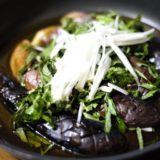 【うまみジュワ~ッ!!】ナスのたっぷり薬味のせレシピ